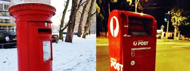 Letterboxes!