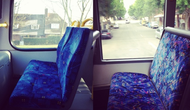 Bus Seat- London Vs Sydney
