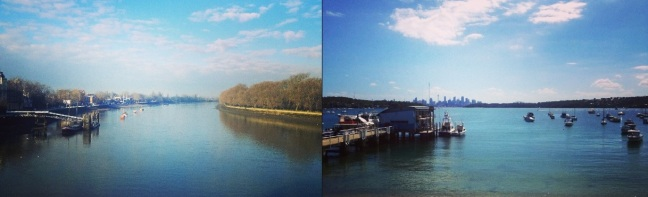 London vs Sydney- River Thames vs Sydney Harbour.