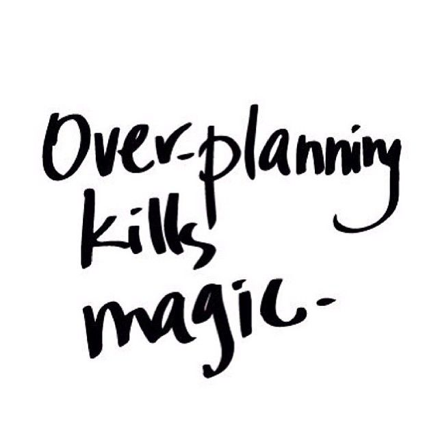 Over-planning Kills Magic – Golden Hour Girl